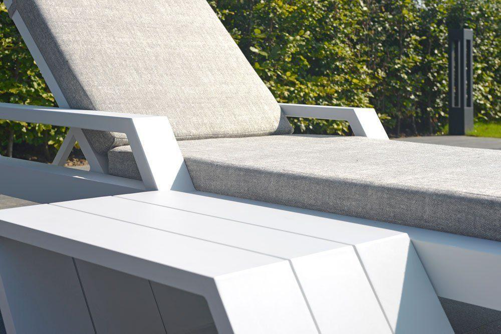 borek viking bijzettafel aluminium lounge