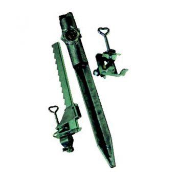 Balkonklem verstelbaar voor onderstokken t/m 30 mm