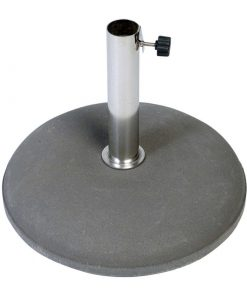 Betonvoet 30 kg 25-44 mm inclusief RVS buis