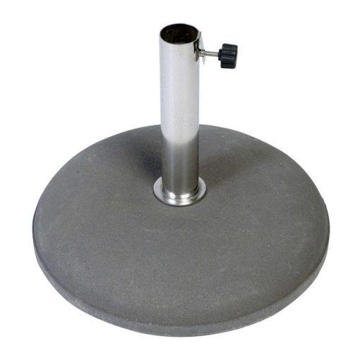 Betonvoet 30 kg 25-55 mm inclusief RVS buis