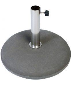 Betonvoet 40 kg 25-55 mm inclusief RVS buis