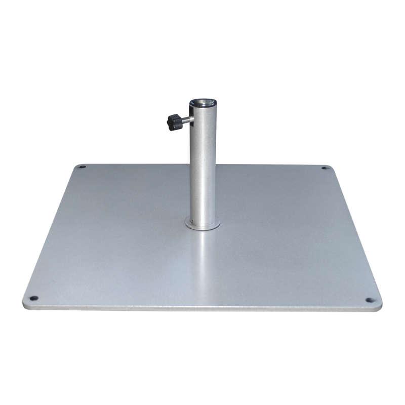 Metaalplaat 50 kg 61 mm inclusief buis