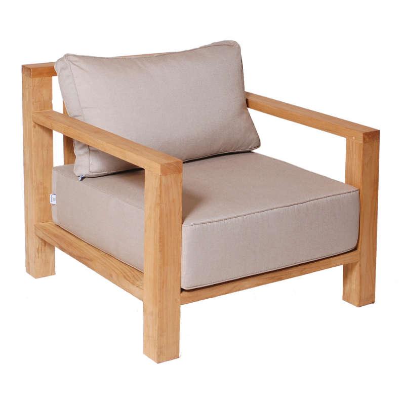 borek miami beach fauteuil lage stoel lounge teak