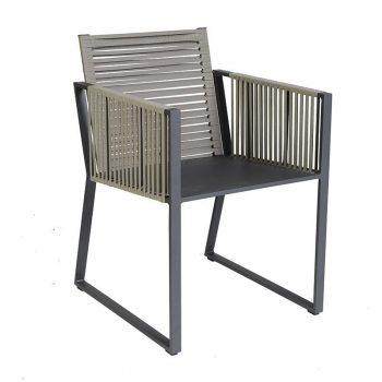 borek modena stoel belt aluminium