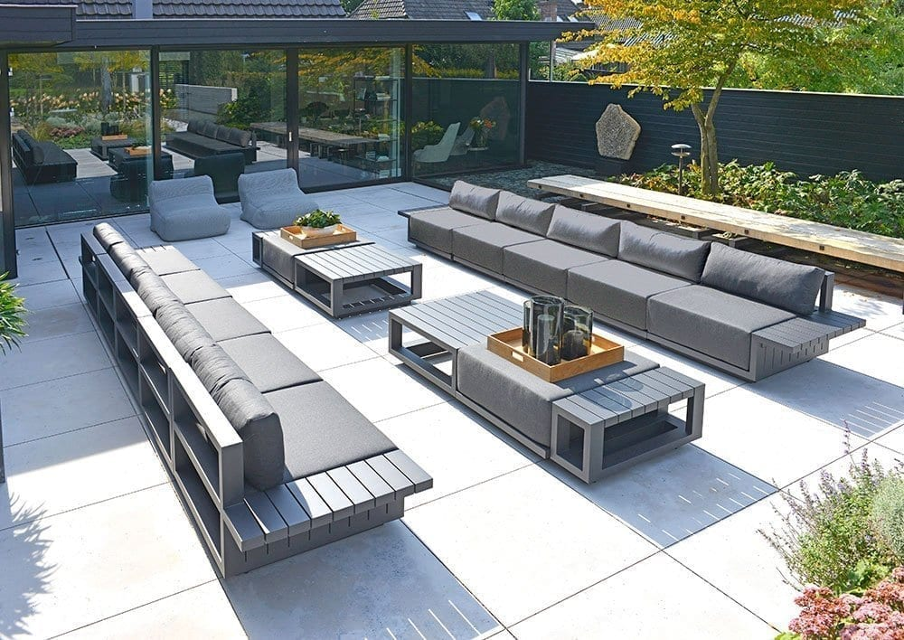 borek murcia bijzettafel aluminium lounge