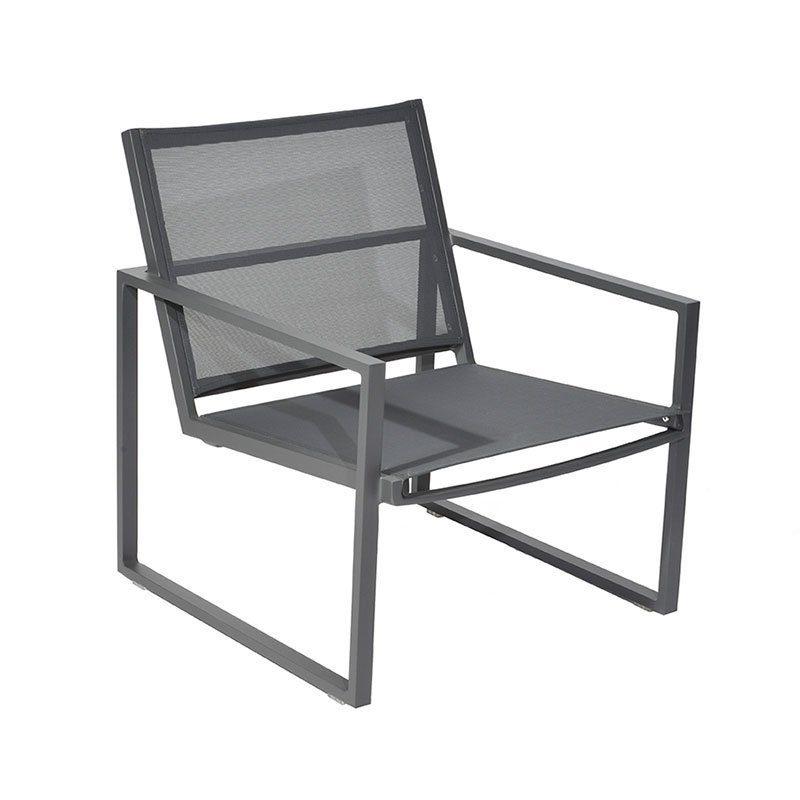 borek jaca lage fauteuil textilene