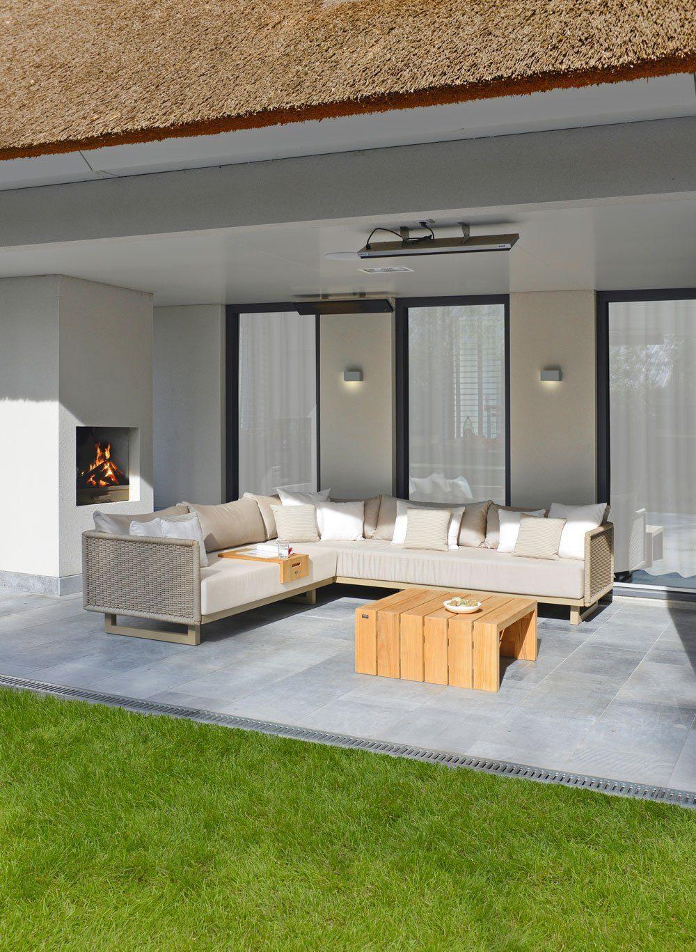 borek portofino lounge bank sofa rope