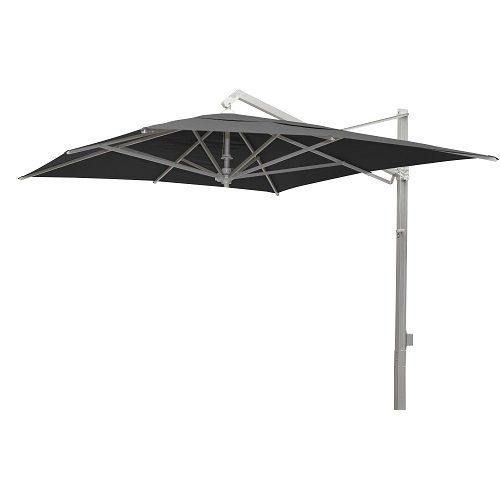 Borek - Rodi zilver parasol 300x400 - zwart | Bogarden Buitenmeubilair