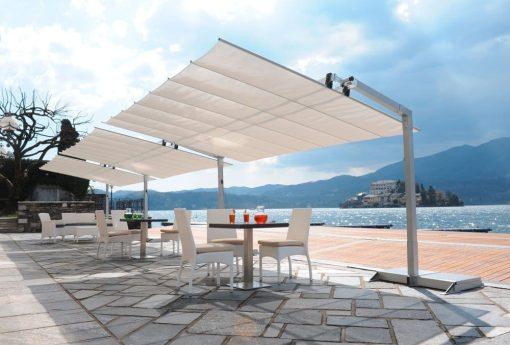 borek parasol new flexy markies zonnescherm fim