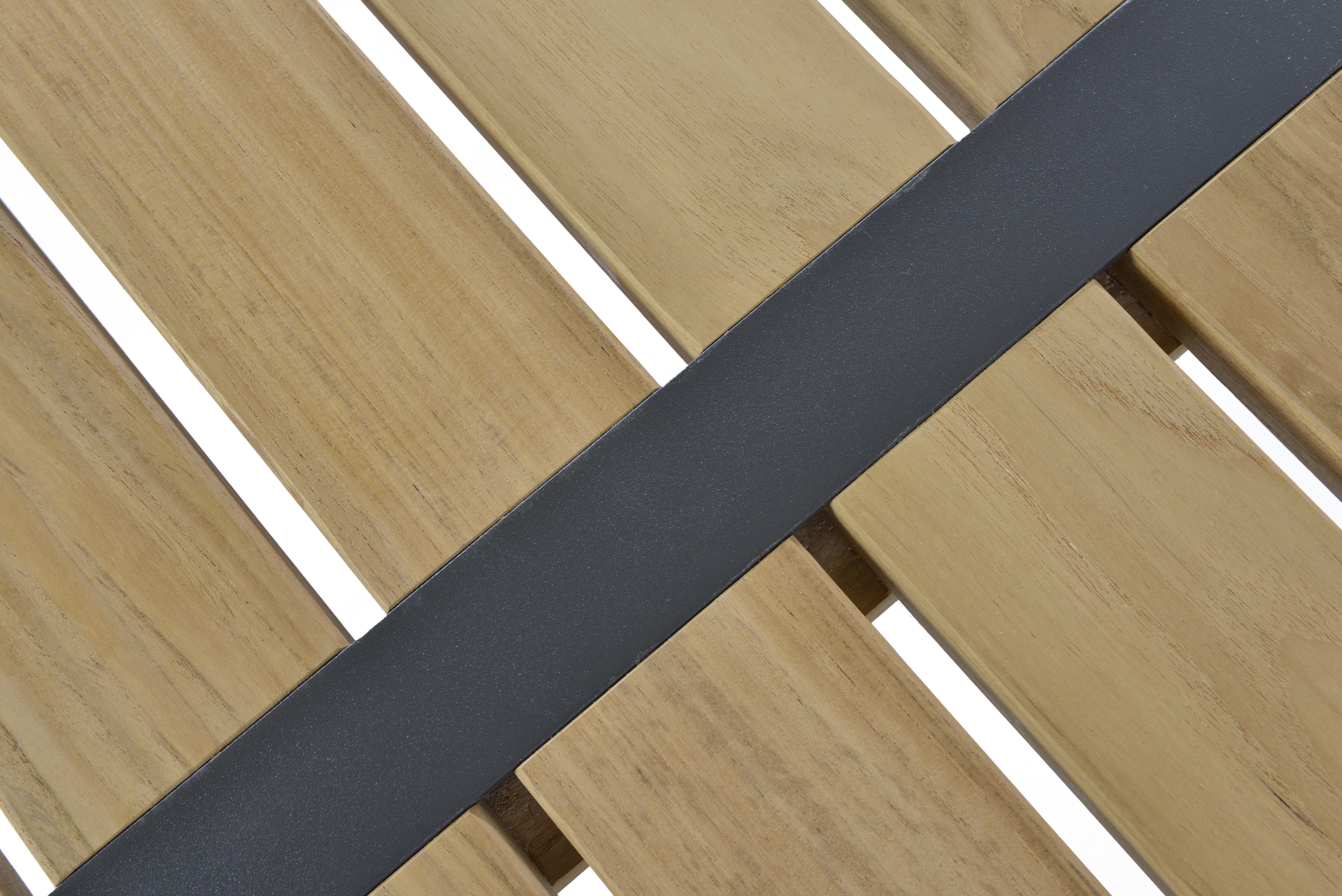 borek twisk lage tafel teak aluminium