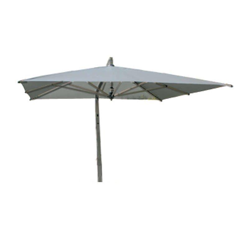 Borek - Capri grafiet parasol 400x300 | Bogarden Buitenmeubilair