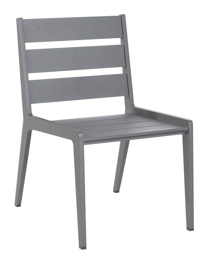 borek boomerang stoel aluminium bogarden