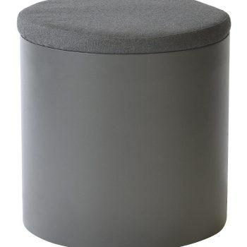 borek furore bijzettafel aluminium teak