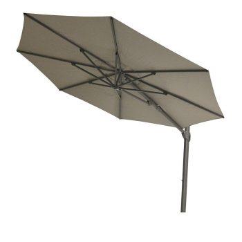 Max & Luuk - Vince ∅350 parasol - taupe | Bogarden Buitenmeubilair