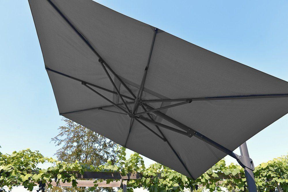 Max & Luuk - Vince vrijhanged parasol | Bogarden Buitenmeubilair