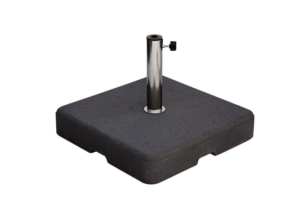 Betonvoet 60 kg 61 mm inclusief RVS buis