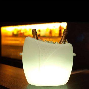 imagilights marylin champagnekoeler lamp led lamp outdoor bogarden