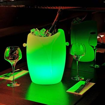 imagilights yolica champagnekoeler lamp led lamp outdoor bogarden