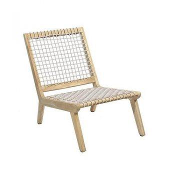 max & luuk lucy stoel teak fiber