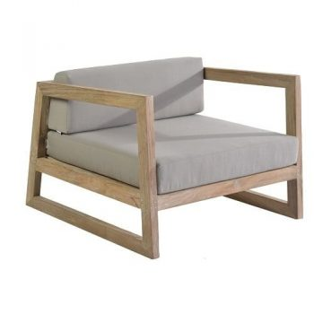 max & luuk mason lage fauteuil lounge reclaimed teak