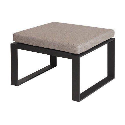 borek samos lage voetenbank lounge aluminium