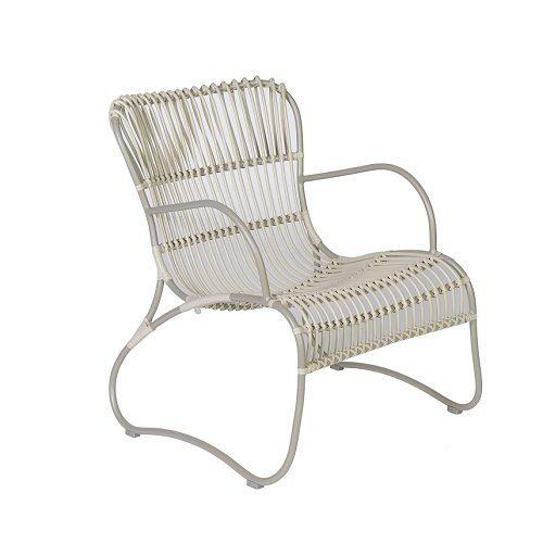 max & luuk emma stapelbare lage fauteuil fiber
