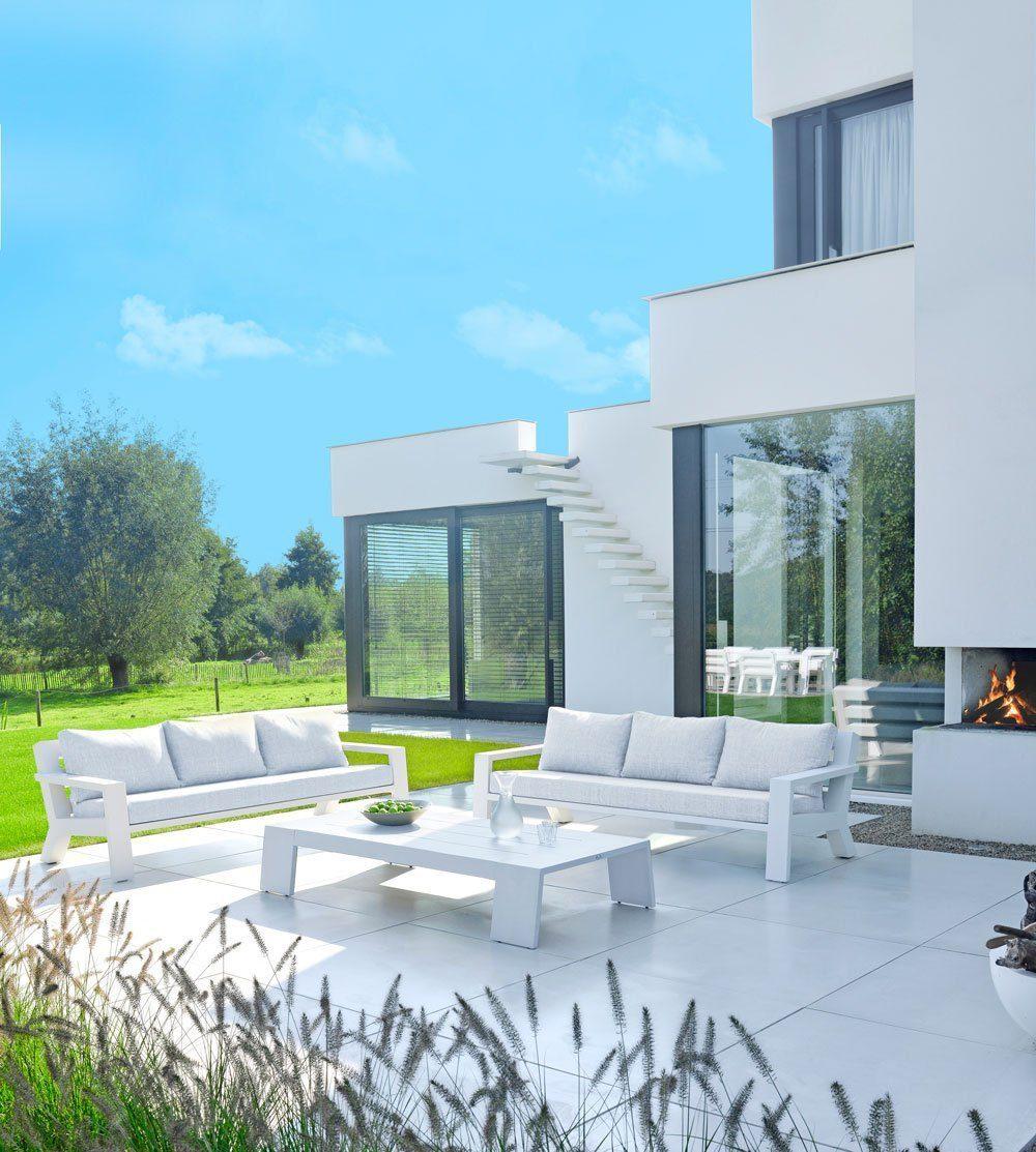 borek viking lage bank lounge aluminium