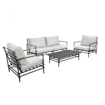 Yoi Furniture - Ki lounge opstelling | Bogarden Buitenmeubilair
