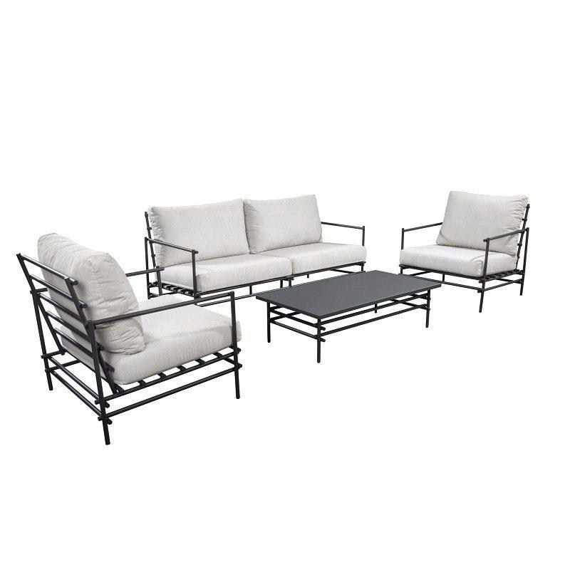 Yoi Furniture - Ki lounge opstelling   Bogarden Buitenmeubilair