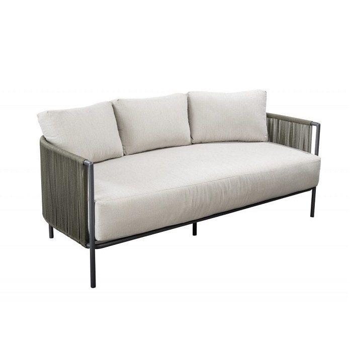 Yoi Furniture - Umi lage bank - groen   Bogarden Buitenmeubilair