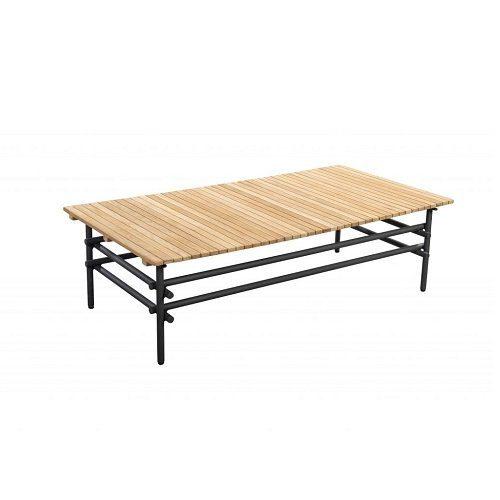 Yoi Furniture - Ki lage tafel 125x65 - antraciet | Bogarden Buitenmeubilair