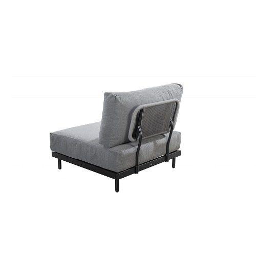 Yoi Furniture - Natsu lage fauteuil - rug   Bogarden Buitenmeubilair