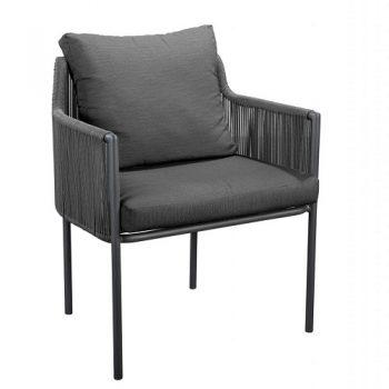 Yoi Furniture - Umi stoel - donker grijs   Bogarden Buitenmeubilair